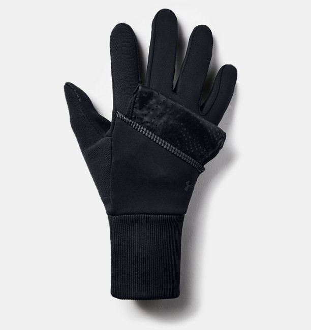 Womens UA Run Convertible Gloves